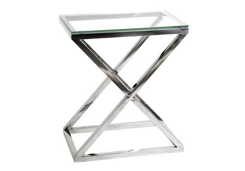 Eichholtz EICHHOLTZ side table bijzettafel Criss Cross (hoog)