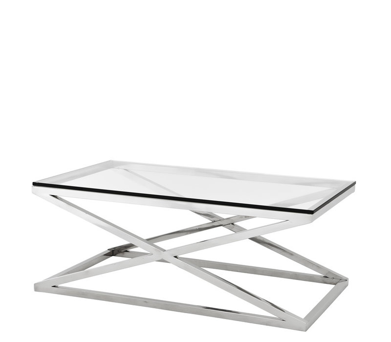 EICHHOLTZ Coffee Table Salontafel Criss Cross