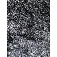 Luxe velours fluweel vloerkleed - Wolf grey - N23
