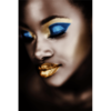 Aluminium Art - Kunstwerk -  Black Girl Make Up