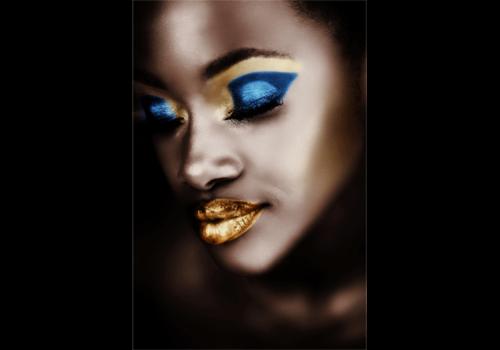 Aluminium Art - Black Girl Make Up