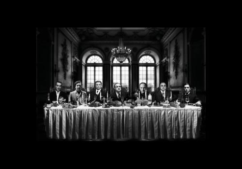 Aluminium Art - Gangsters Last Supper