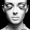 Aluminium Art - Kunstwerk -   Eyelashes