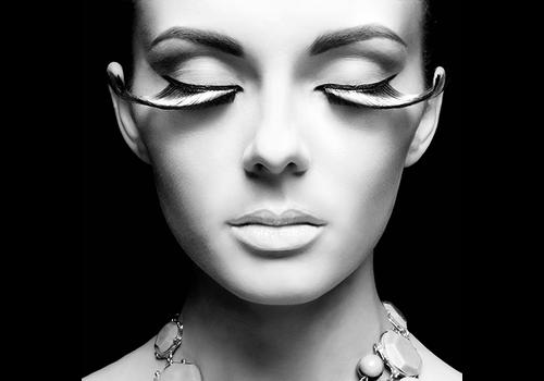 Aluminium Art - Eyelashes