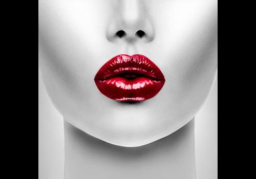 Aluminium Art - Red Lips