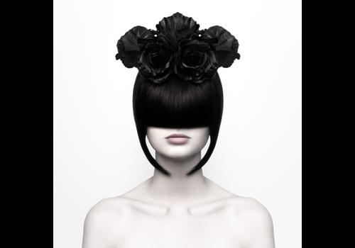 Aluminium Art - Black Widow