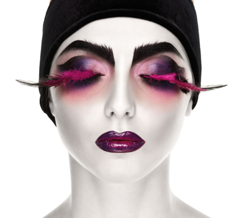 Aluminium Art - Kunstwerk - Surreal Lady with Closed Eyes