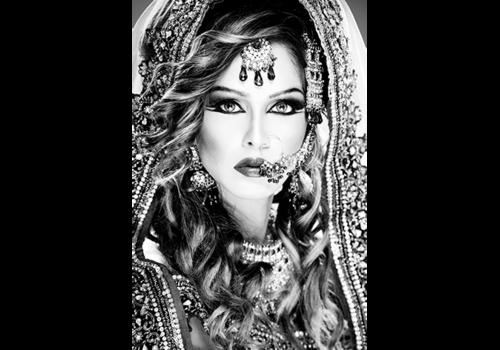 Aluminium Art - Woman Indian Bridal