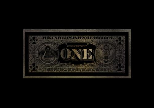Aluminium Art - One Dollar Parelmoer