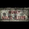 Aluminium Art - Dollar Money Never Sleeps Franklin
