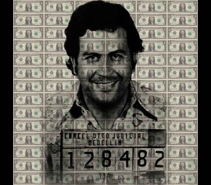 Aluminium Art - Dollars Pablo