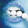 Aluminium Art - Pearls Blue