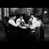 Aluminium Art -  Men Playing Poker