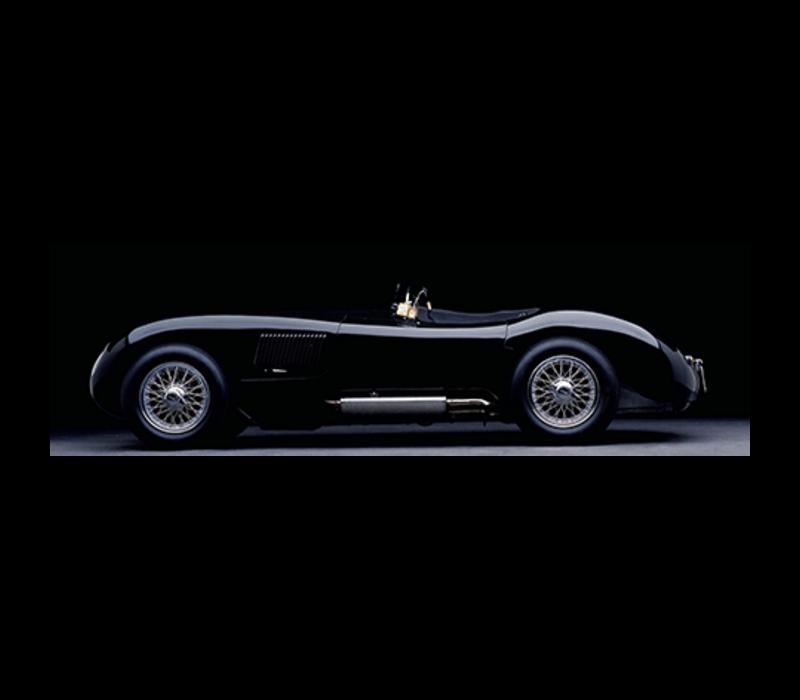 Aluminium Art - Jaguar Classic Car 200x80 cm