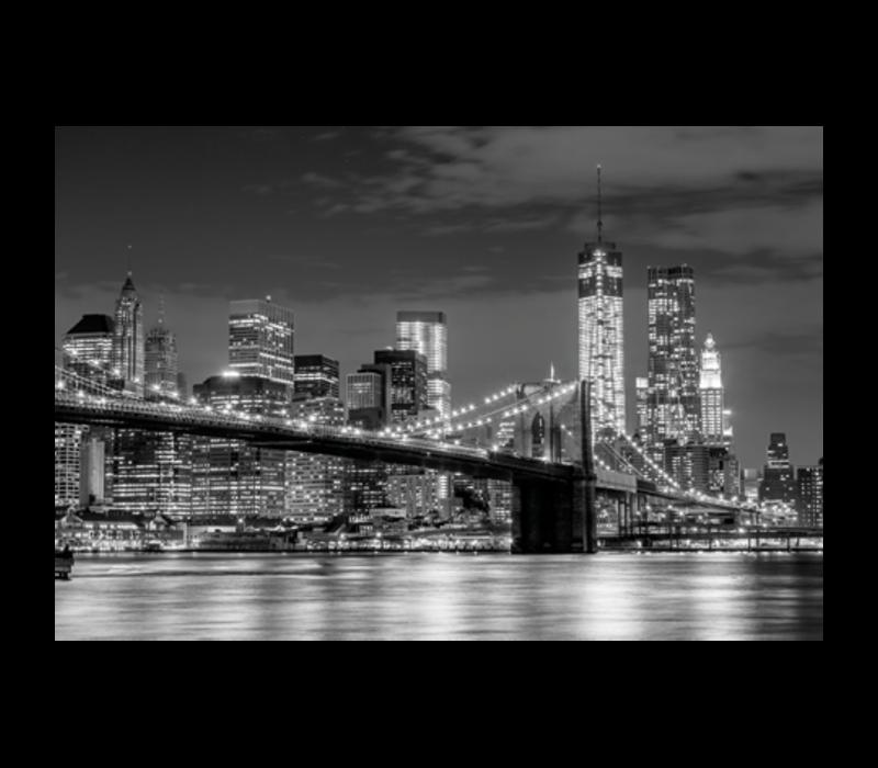 Aluminium Art - Brooklyn Bridge Skyline