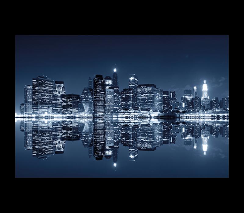 Aluminium Art - Manhattan at Night