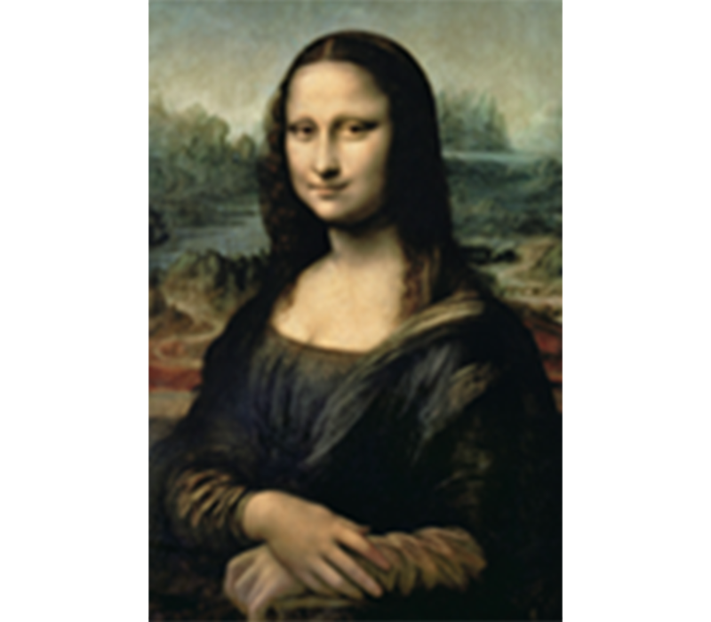 Aluminium Art - Mona Lisa