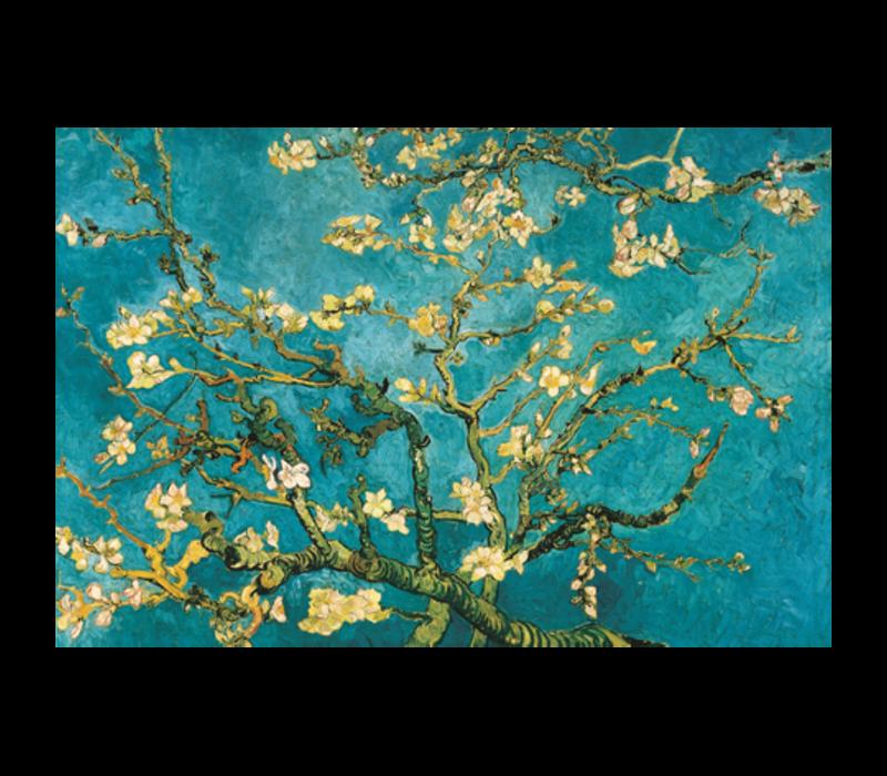 Aluminium Art - Van Gogh Blossom Blue