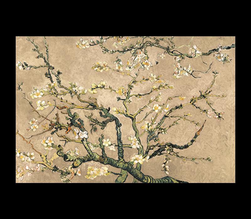 Aluminium Art - Van Gogh Blossom Beige