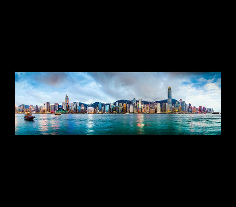 Aluminium Art - Hong Kong China Skyline