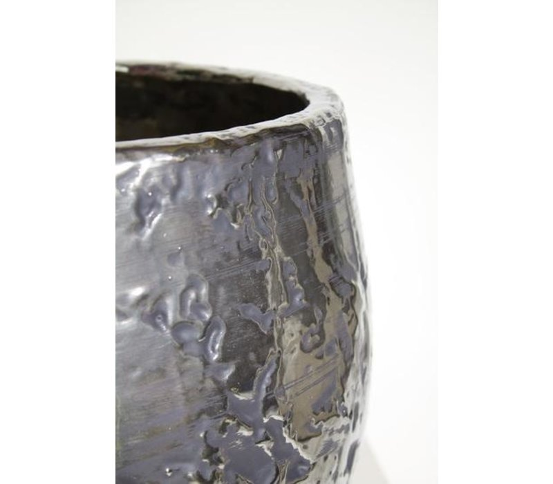 Pot chroom - 32 x 26 cm