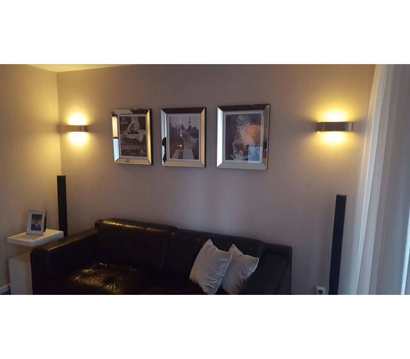 Fotolijst Marilyn Monroe Ambassador Hotel -  zilver 50x60