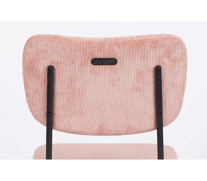 Zuiver Benson Barkruk Set van 2 - 65-cm roze