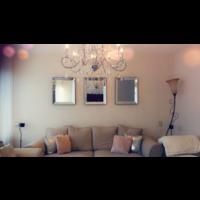 Set van 3 -  Spiegels met spiegelrand 50x60 cm