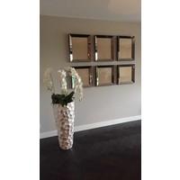 Voordeelset spiegellijsten - 3 fotolijsten brons 50x50