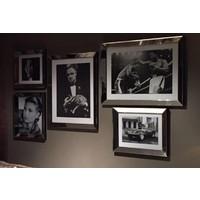Spiegellijst fotolijst - zilver 70x90