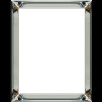 Voordeelset spiegellijsten - 4 fotolijsten zilver 50x50