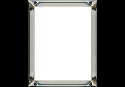 Set van 4 - fotolijsten 50x50 cm - zilver
