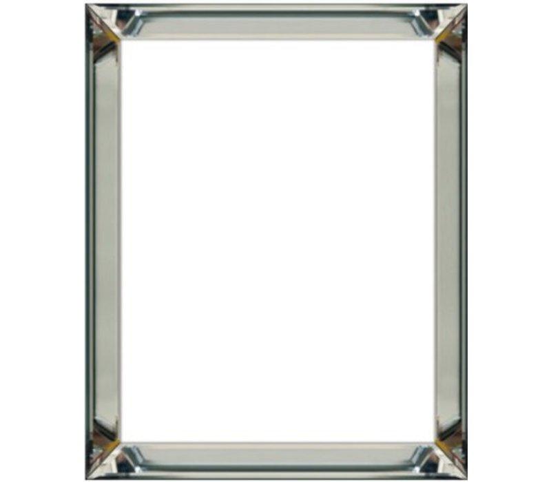 Spiegellijst fotolijst - zilver 35 x 40 cm