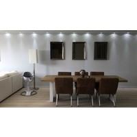 Spiegellijst met spiegel - brons 60x80 cm