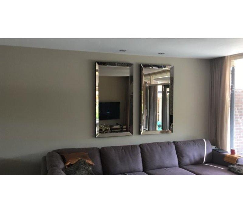 Spiegellijst met spiegel -brons 70x130