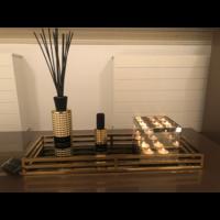 EICHHOLTZ Ersa spiegeldienblad goud - voordeelset