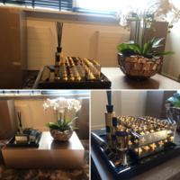 Linari interieurparfum diffuser - goud Opale