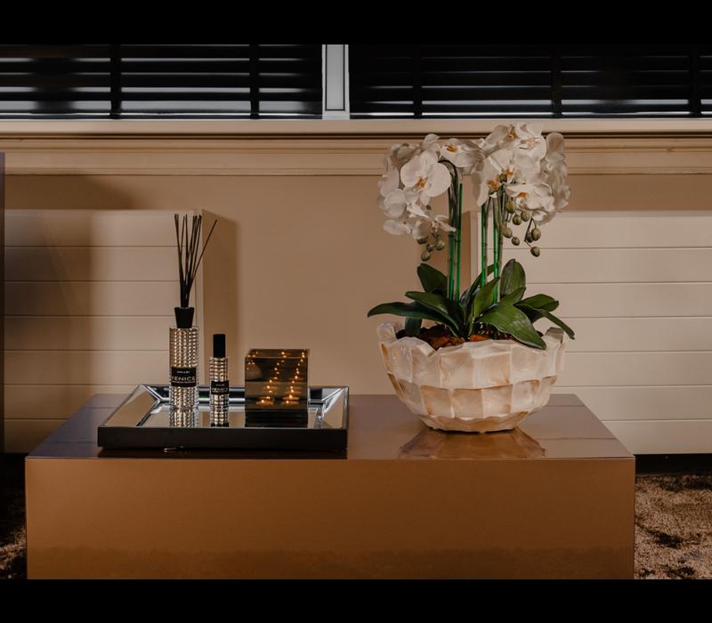 Linari interieurparfum diffuser - zilver Fenice