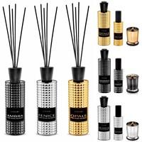 Linari interieurparfum diffuser -zwart Ambra