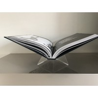 Boekenstandaard - transparant medium