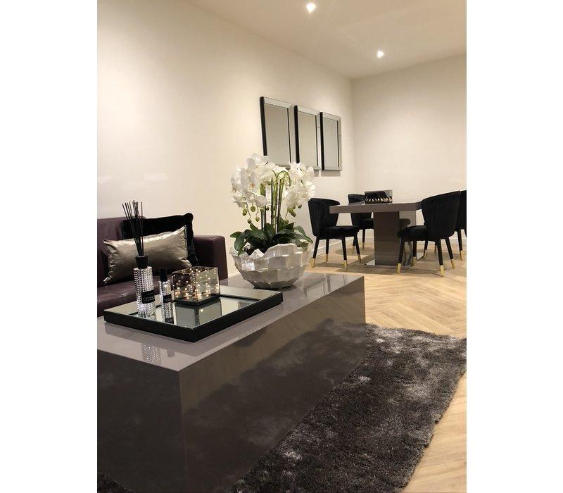 Linari set interieurparfum diffuser en roomspray - zilver Fenice