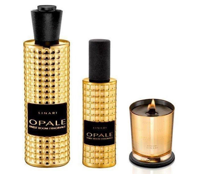 Linari kaars  - goud Opale
