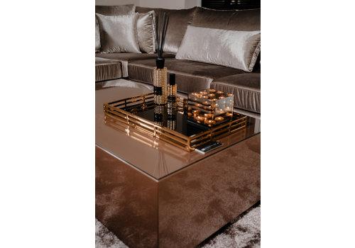 EICHHOLTZ Giacomo spiegeldienblad goud - voordeelset