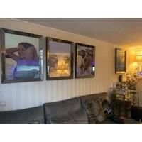 Spiegellijst fotolijst - brons 70x90