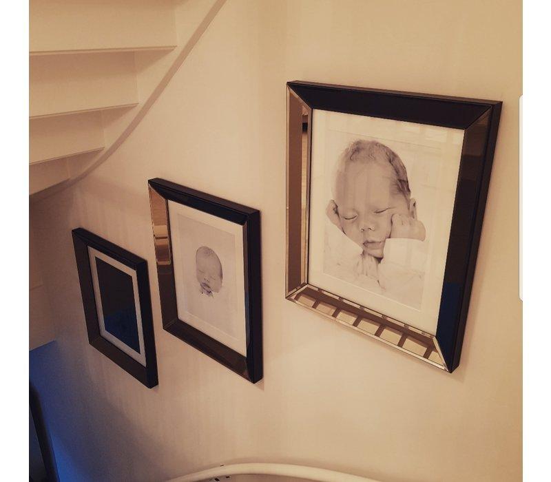 Voordeelset spiegellijsten - 3 fotolijsten brons 50x60