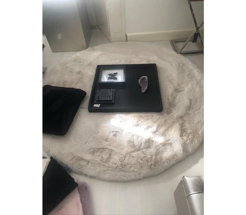 Luxe velours fluweel vloerkleed - Galaxy 160x160 cm