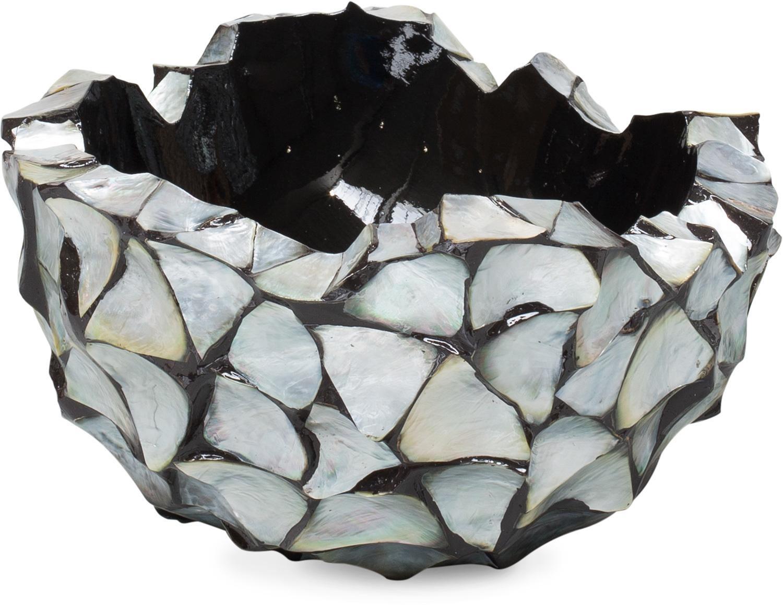 Schelpenvaas bowl zilver
