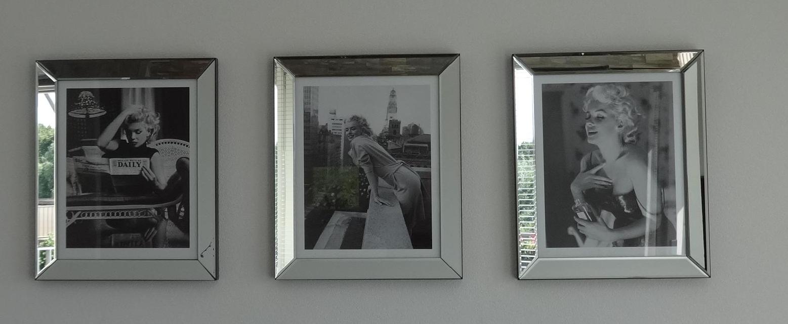 Spiegelfotolijsten met Marilyn Monroe