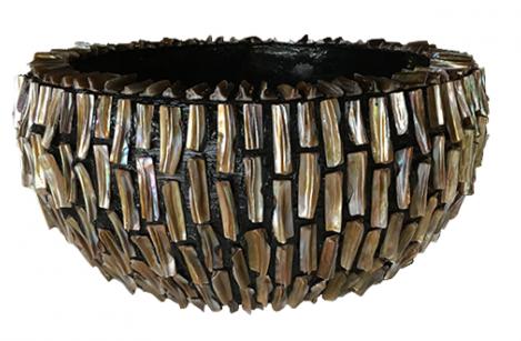 Schelpenvaas rough shell 40 cm