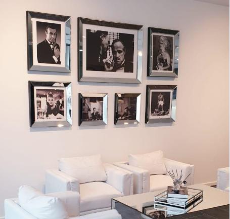 Een spiegellijsten fotolijsten gallery wall maken? Zo doe je dat!